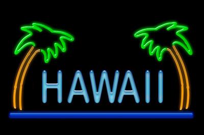 Neon Hawaii