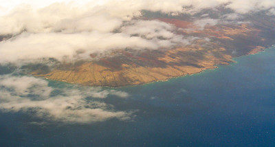 Flying into Hilo