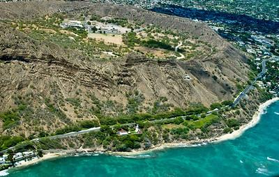 aerial photo, Southern Oahu Coastline