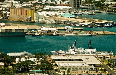 aerial photo, Honolulu