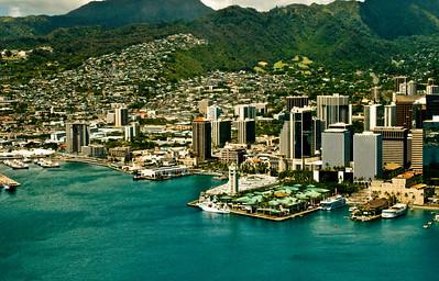 aerial photo, Waikiki, Honolulu