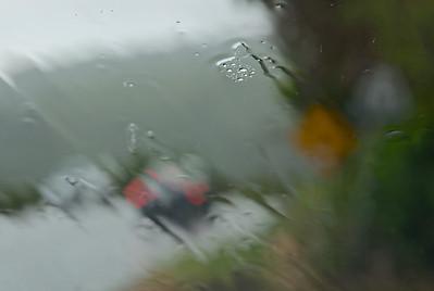 Splattering Rain
