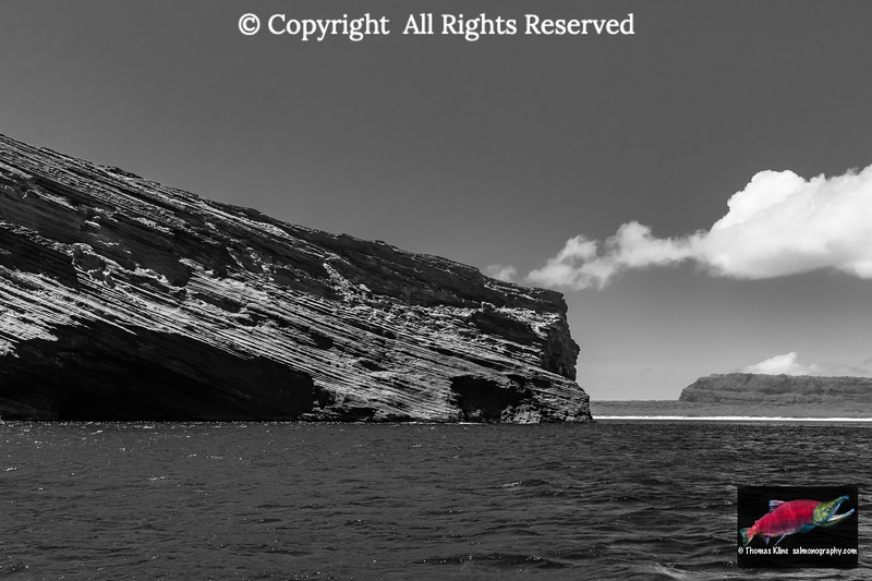 Lehua Rock and nearby Niihau Island