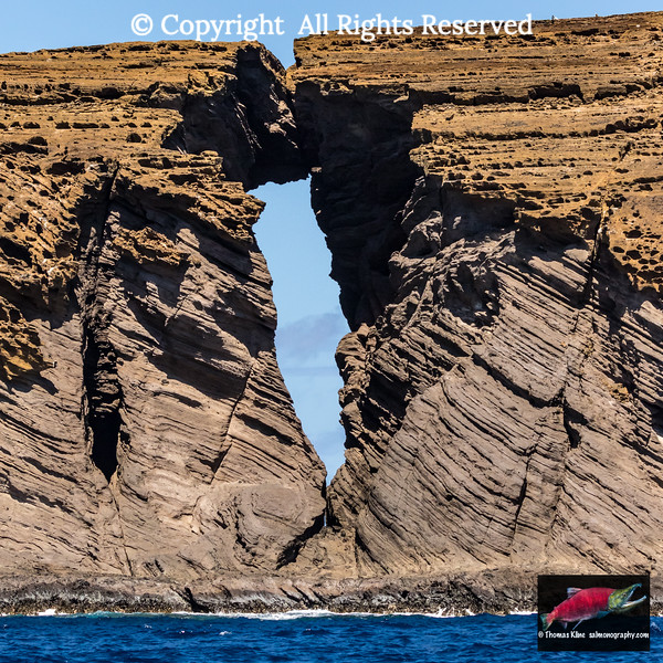 The Keyhole of Lehua Rock