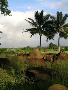 The Kukanioloko birthing stones.  The birthplace of the Hawaiian kings from to 1300 to the 1700's