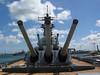 16 inch Guns on the USS Missouri - Pearl Harbor, Oahu