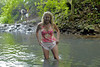 Cindy hiking in the Rain Forest - Maui