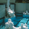 The Neptune pool statuary by Cassou.