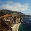 Bixby Bridge on Highway 1 near Big Sur.