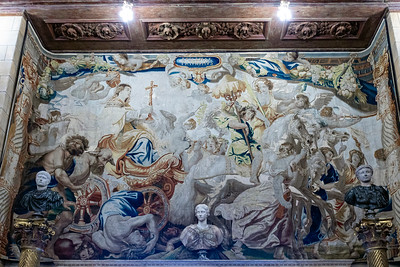 Triumph of the Church - tapestry