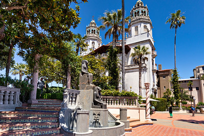 Hearst Castle at San Simeon; Casa Grande & Egyptian Artifacts
