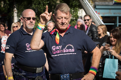 Gay Gordons in Hebden Bridge Pride