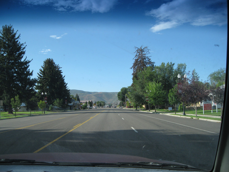 Just a shot of a boulevard in Heber City