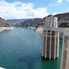 These towers rise 40' above the dam parapet