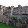 The castle ruin in Heidelberg, Germany.