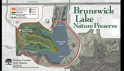 Brunswick Nature Center Map