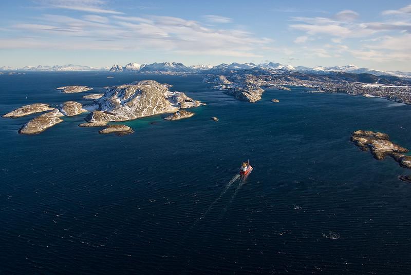 Seaway<br /> Approaching Bodø