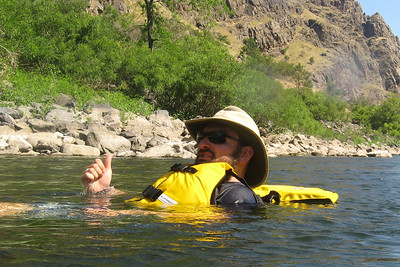 Floating the Snake at Lower Oregon Hole,  Hells Canyon