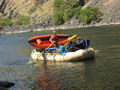 Freight Raft, Blind Creek, Hells Canyon, July, 2009