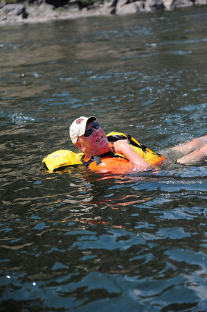 Floating into Fish Trap Bar, Hells Canyon, July, 2009