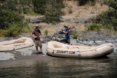 The End.  Lower Pittsburg Landing,  Hells Canyon