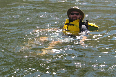 Floating into Johnson's Bar Landing,  Hells Canyon