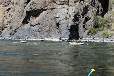 Freight Rafts, Blind Creek, Hells Canyon, July, 2009