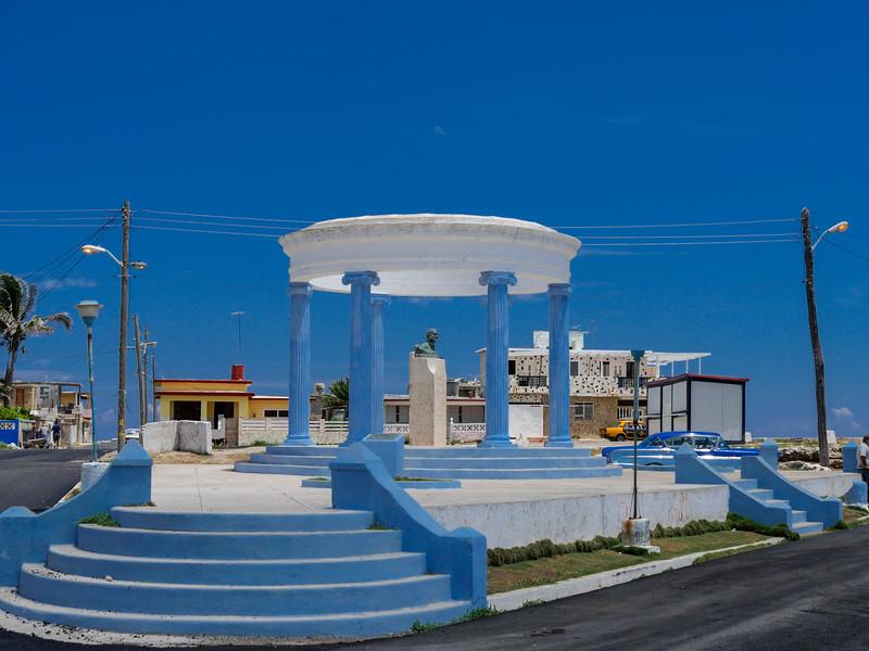 The Hemingway Monument in Cojimar, Cojimar, Cuba, June 11, 2016.