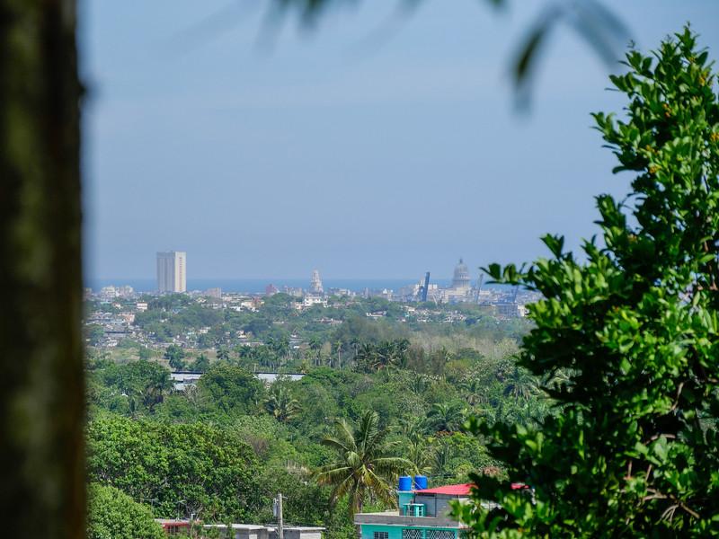 View from Havana from Museo Hemingway, Finca Vigia, Havana, Cuba, June 11, 2016.
