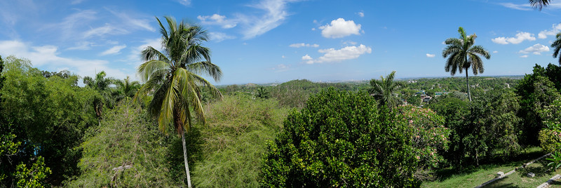 View from Havana from Museo Hemingway, Finca Vigia, Havana, Cuba, June 11, 2016.
