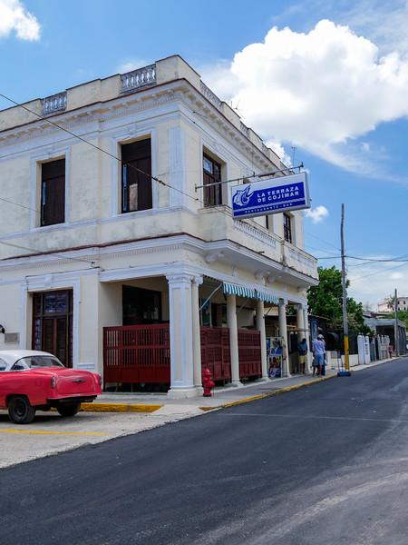 La Terraza was  Hemingway's  favorite hangout when his boat was moored at Cojimar, Cojimar, Cuba, June 11, 2016.