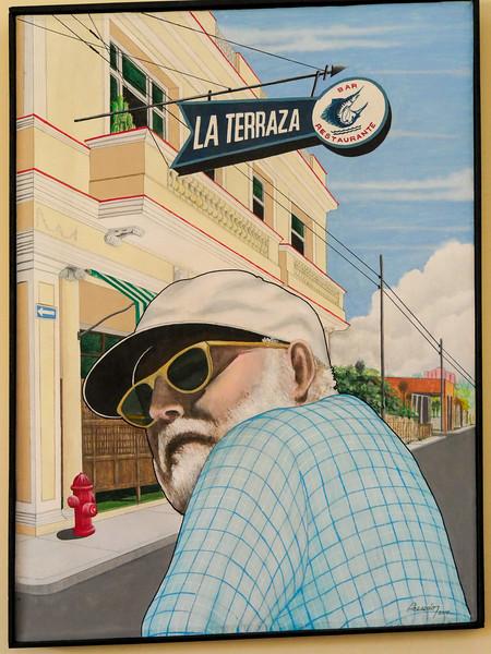 The Cool Heminway, La Terraza, Cojimar, Cuba, June 11, 2016.