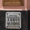 "Hemingway started ""For Whom the Bell Tolls""  Hotel Ambos Mundos, and stayed for seven years,  Havana, Cuba, June 2, 2016."