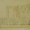 Hemingway wrote down his weight and blood pressure on the bathroom wall.  Museo Hemingway, Finca Vigia, Havana, Cuba, June 11, 2016.