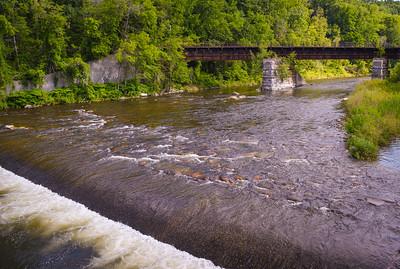 Hoosic River, North Adams MA