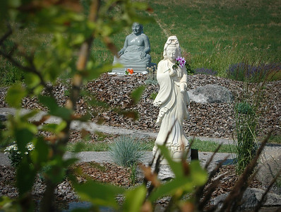 At The Garden Of Ten Thousand Buddhas - Arlee, Montana