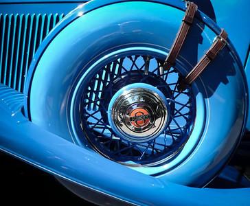 1935 Auburn Speedster - Detail