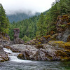 THREE POOLS, SANTIAM RIVER, OREGON