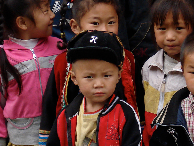 SCHOOL KIDS, TIBET