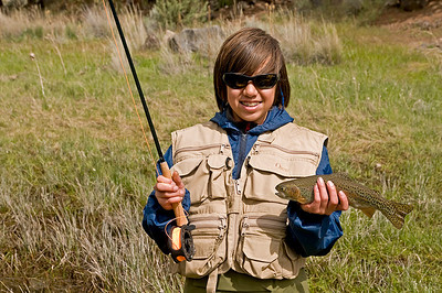Nathan, a fly fisherman for life.
