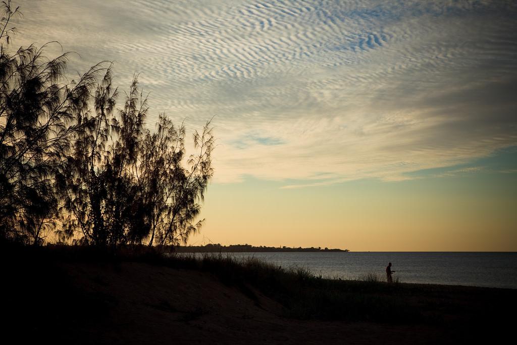 "Pialba Beach, Hervey Bay, Queensland, June 2010. LR Preset: ""Matt's Wedding Fantasy""."