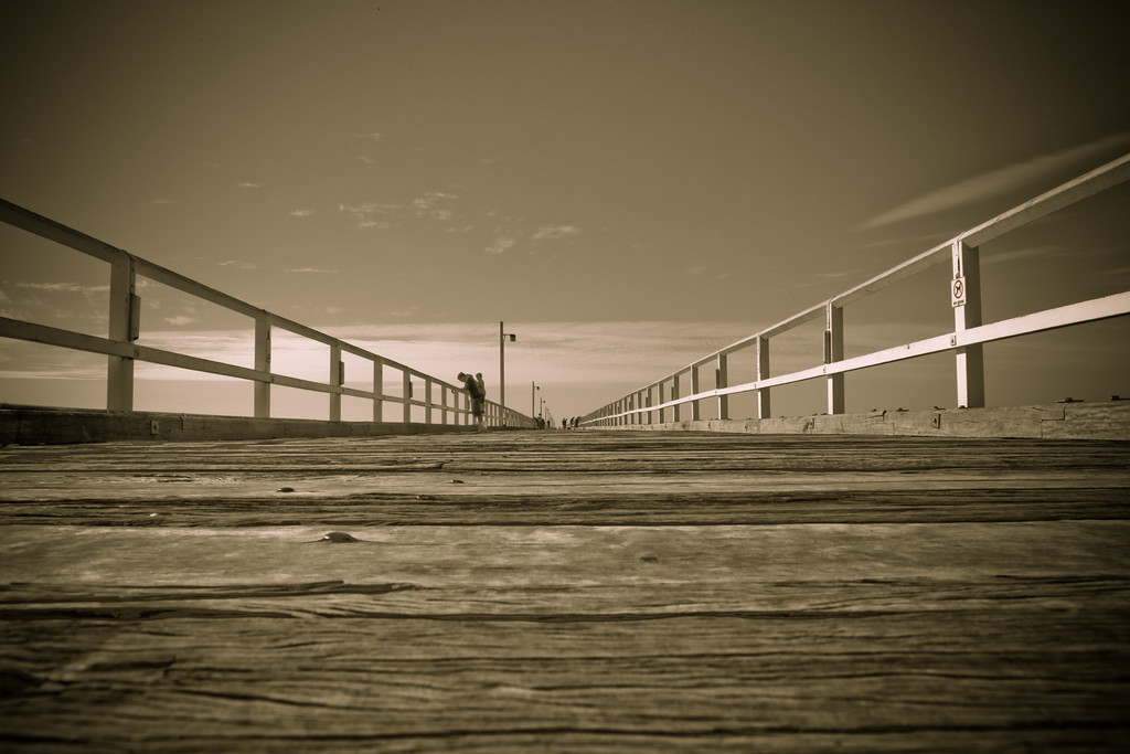 "Urangan Pier - Hervey Bay, Queensland, June 2010. LR Preset: ""Matt's 300 Look - Soft""."