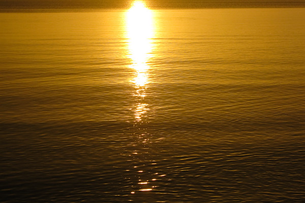 """Point & Shoot / Pocket Camera photos - """"Golden Sunrise"""" - taken in the early morning at Pialba Beach; Hervey Bay, Queensland; June 2010."""