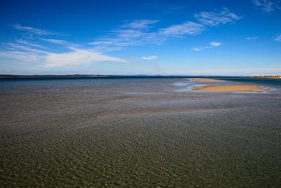 View from Urangan Pier - Hervey Bay, Queensland, June 2010.