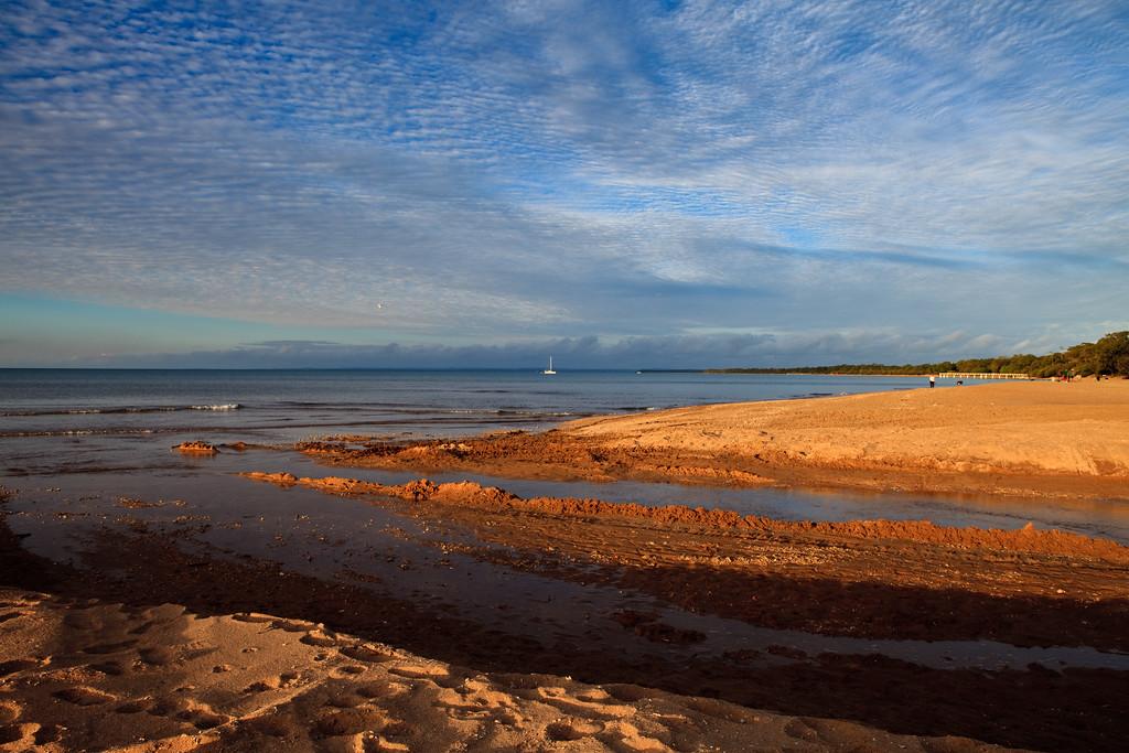 Pialba Beach, Hervey Bay, Queensland; June 2010.