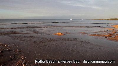 Video: Pialba Beach & Hervey Bay in the late afternoon sun. (Yep, sorry about the shadow! :) )