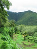Waipio Valley, Hawai`i Island, dry summer