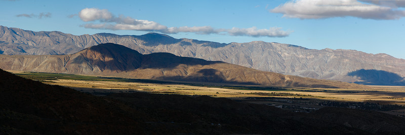 Anza Borrego and Borrego Springs from the westside.