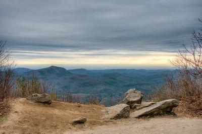 Whiteside Mountain, Cashiers NC