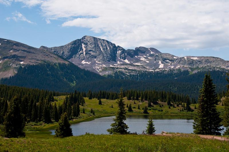 Lake near Molas Pass - Colorado July 2009